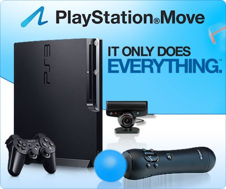 PlayStation Move with PS3 Console & Video Game