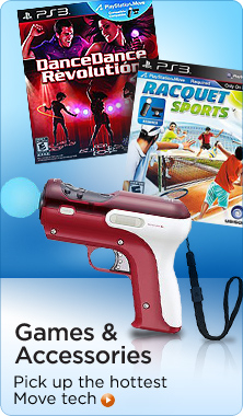 PlayStation Move games & accessories