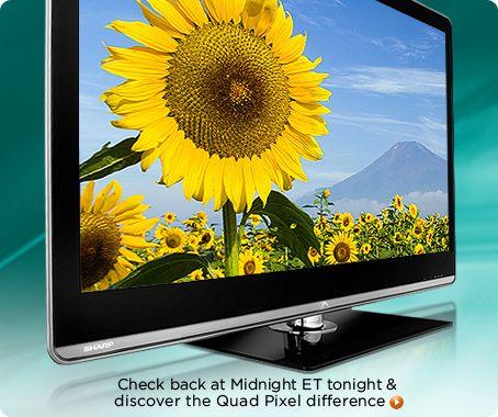 Sharp AQUOS Quattron 1080p 120Hz LED LCD HDTV