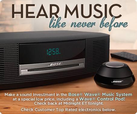 Bose® Wave® Music System and Wave® Control Pod