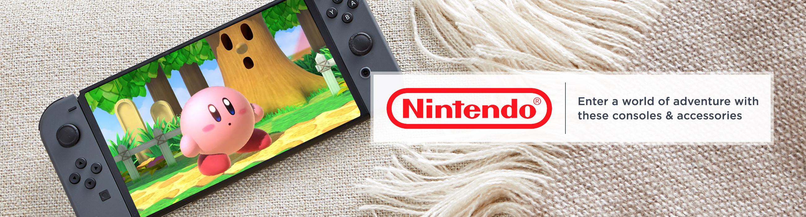 Nintendo Enter a world of adventure with these consoles & accessories