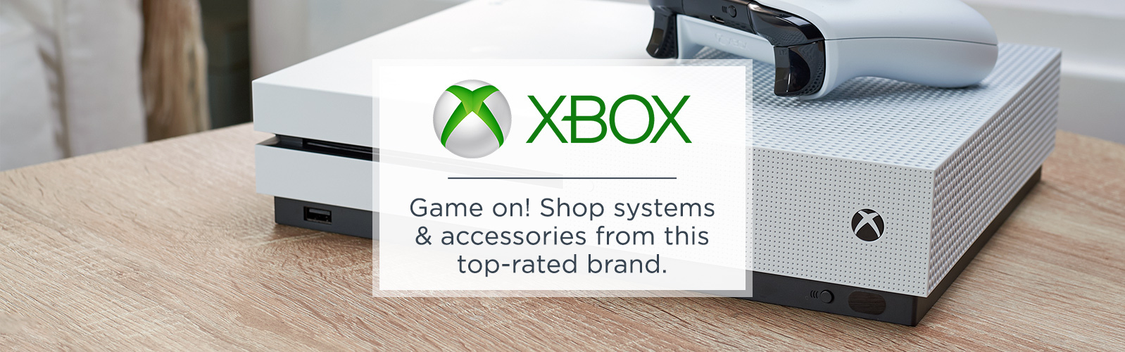 Xbox. Game on! Shop systems & accessories from this top-rated brand.