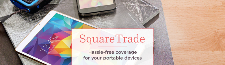 SquareTrade, Enjoy hassle-free coverage & no-worry repairs
