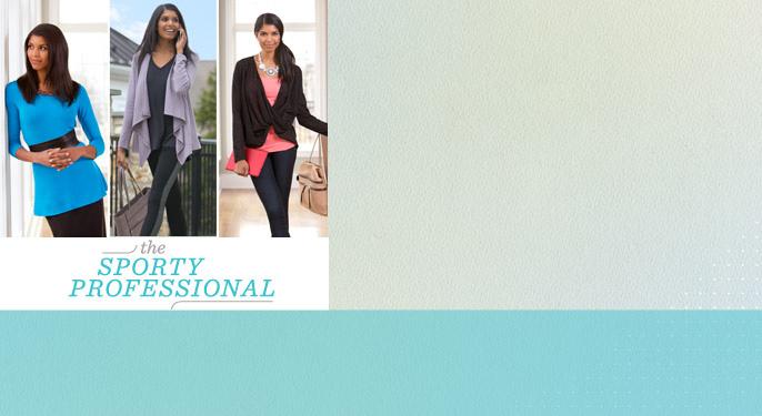 The Sporty Professional — Athleisure — Fashion — QVC.com