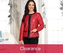 Joan Rivers Quilted Faux-Leather Jacket