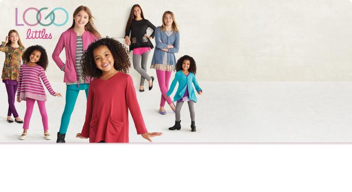 8a42856abc00 LOGO Littles by Lori Goldstein — Kids' Clothing — QVC.com