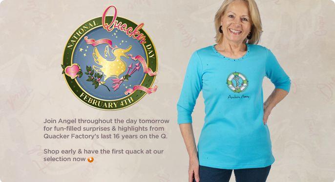 Quacker Factory 3/4-sleeve travel T-shirt