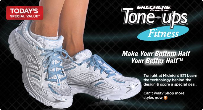 Skechers Tone Ups Lace-up Walking Shoes