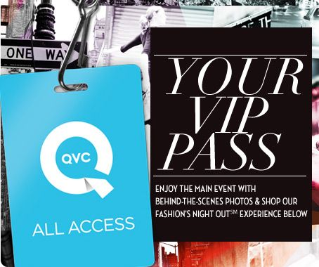 See behind-the-scene pictures of QVC at NY Fashion Week