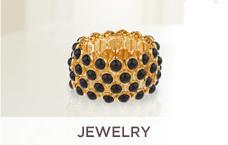 Linea by Louis Dell'Olio Fluted Bead Cross Necklace or Linea by Louis Dell'Olio Black Bead Stretch Bracelet