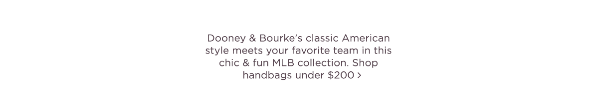 Dooney Sports MLB Collection