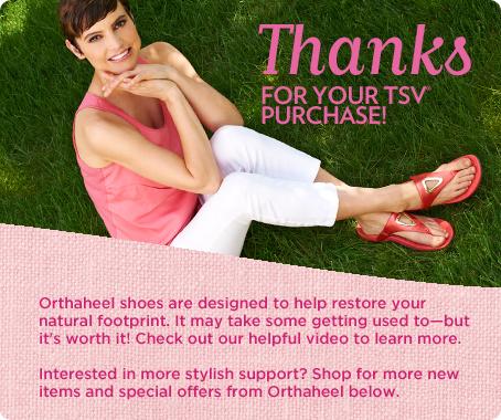 Orthaheel Yara Orthotic Thong Sandals
