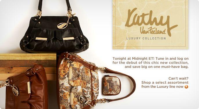 Kathy Van Zeeland Luxury A-Line Pocket Shopper with Accessories