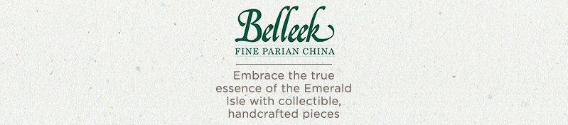 Belleek Irish Porcelain. Embrace the true essence of the Emerald Isle with collectible, handcrafted pieces