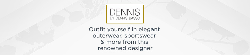Dennis Basso. Outfit yourself in elegant outerwear, sportswear & more from this renowned designer.