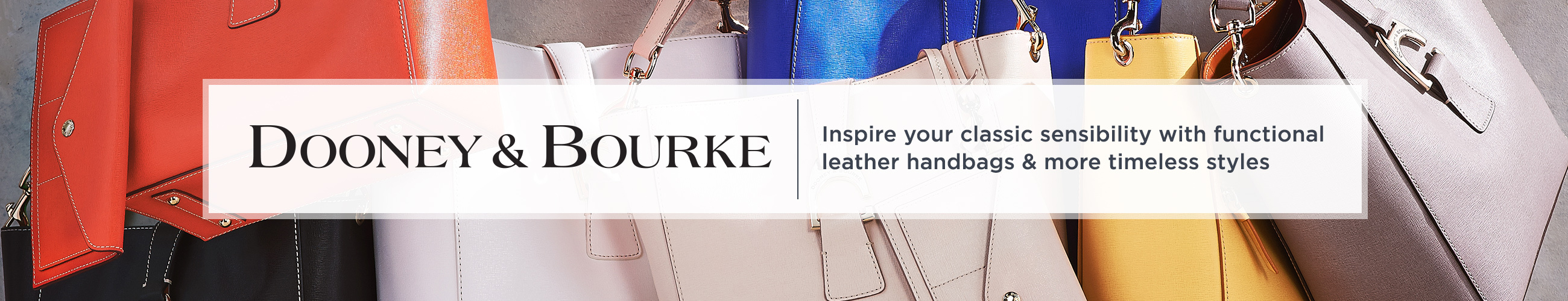 Dooney Bourke Inspire Your Classic Sensibility With Functional Leather Handbags More Timeless Styles