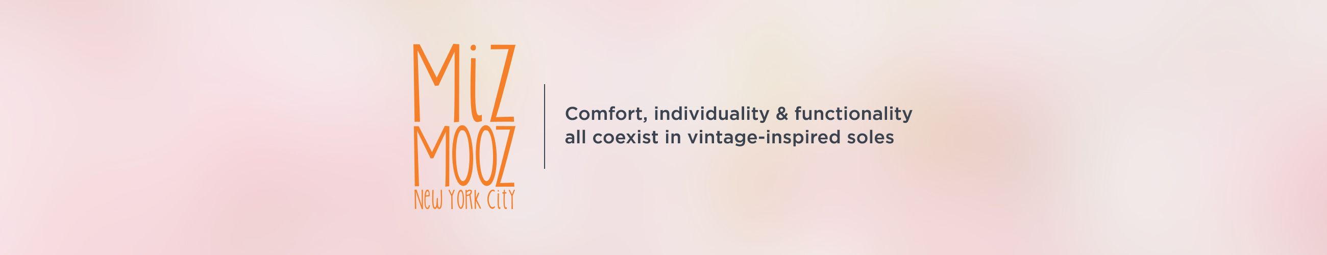 Miz Mooz. Comfort, individuality & functionality all coexist in vintage-inspired soles