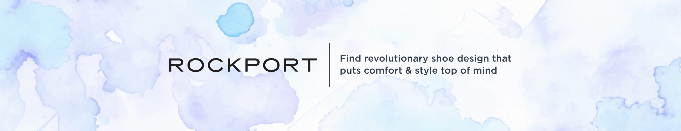 Rockport, Find revolutionary shoe design that puts comfort & style top of mind