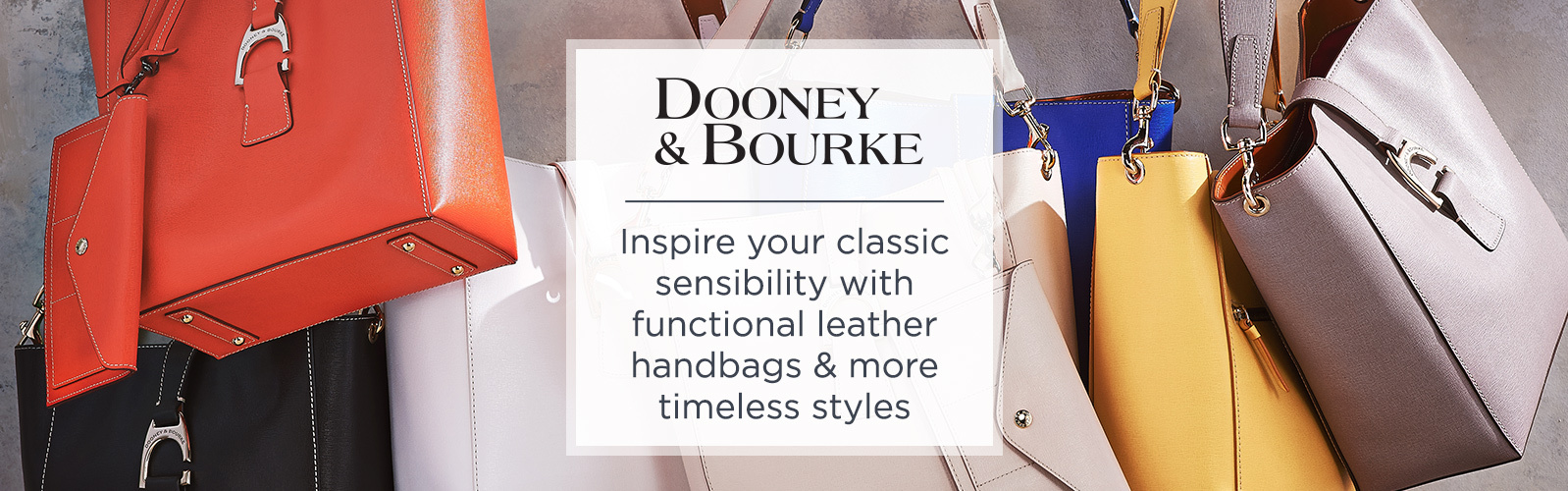 Dooney Bourke Inspire Your Classic Sensibility With Functional Leather Handbags More Timeless