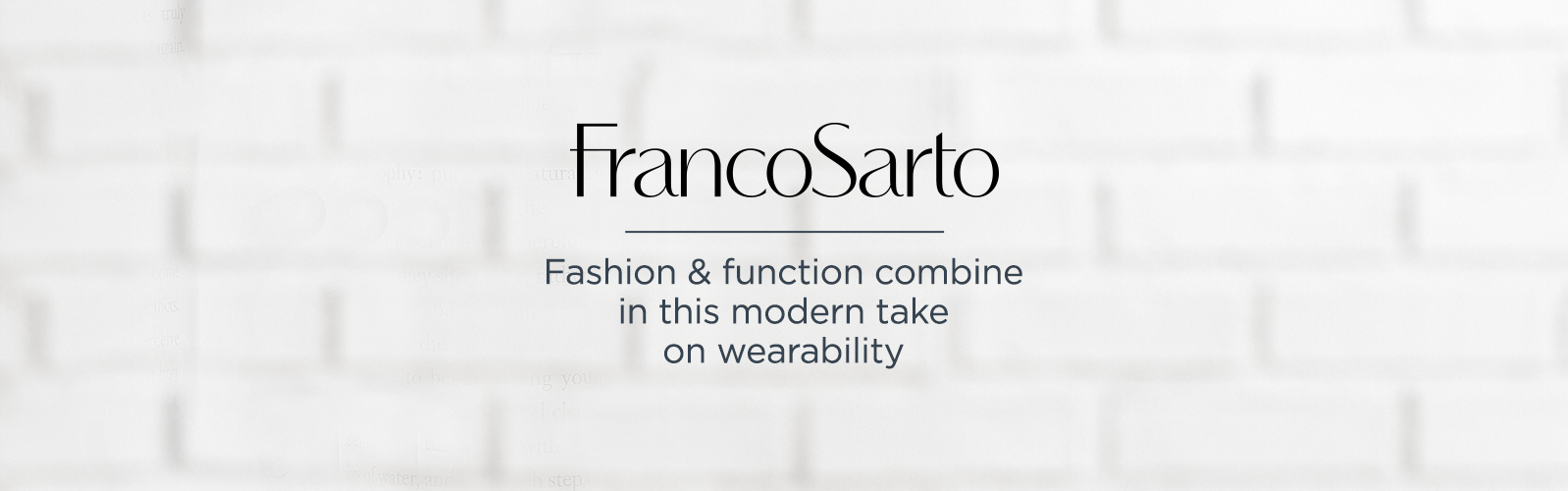 Franco Sarto Fashion & function combine in this  modern take on wearability