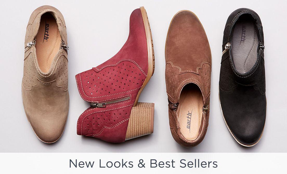 New u0026 Best Sellers Earth Brands Footwear