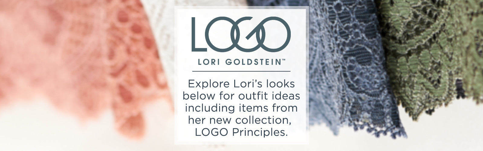 The LOGO Look Book  Shop Lori Goldstein's handpicked ensembles featuring items from her latest LOGO Principles collection
