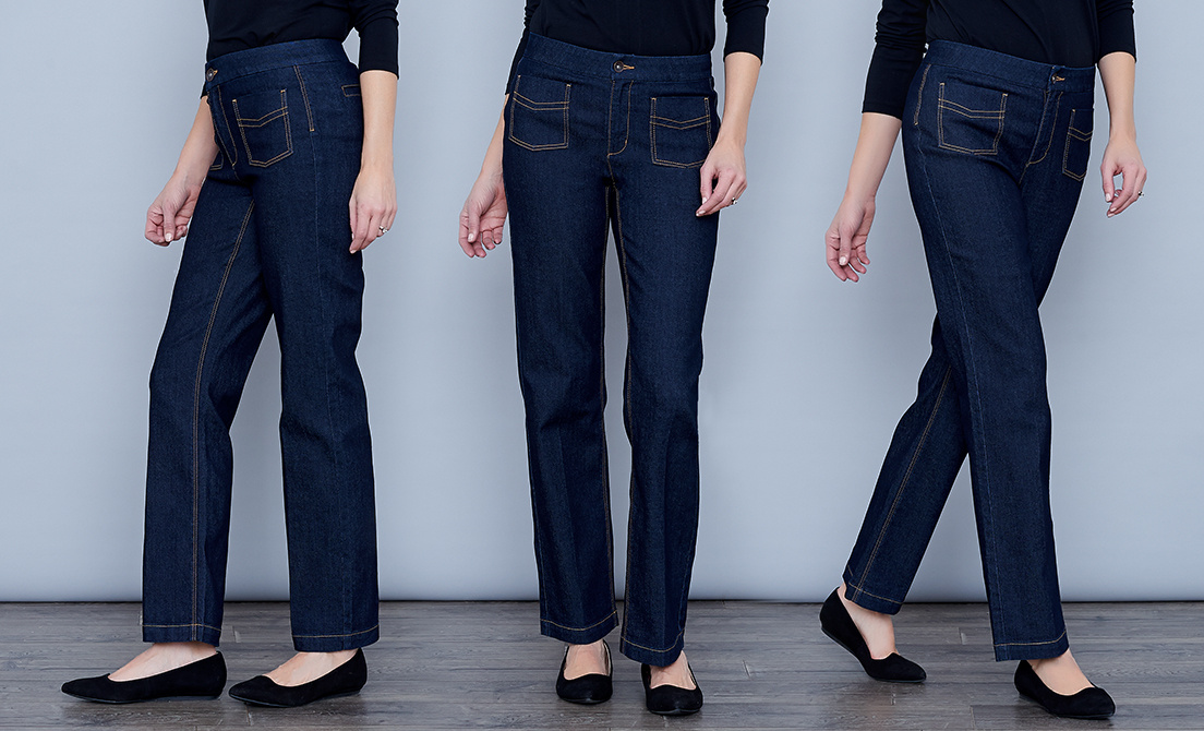 5e3ad0b468e Straight-Leg Jeans — QVC.com