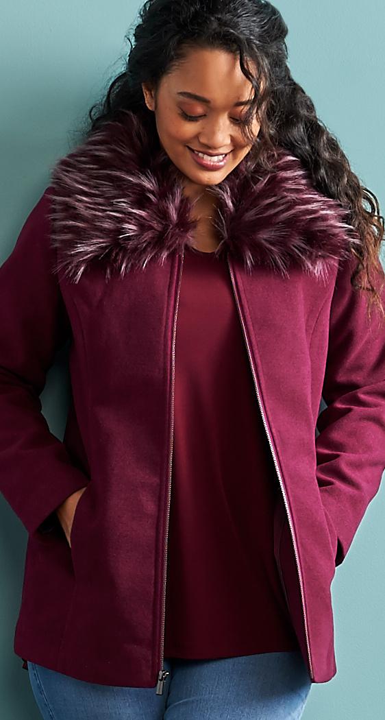 Coats Jackets Amp Vests For Women Qvc Com