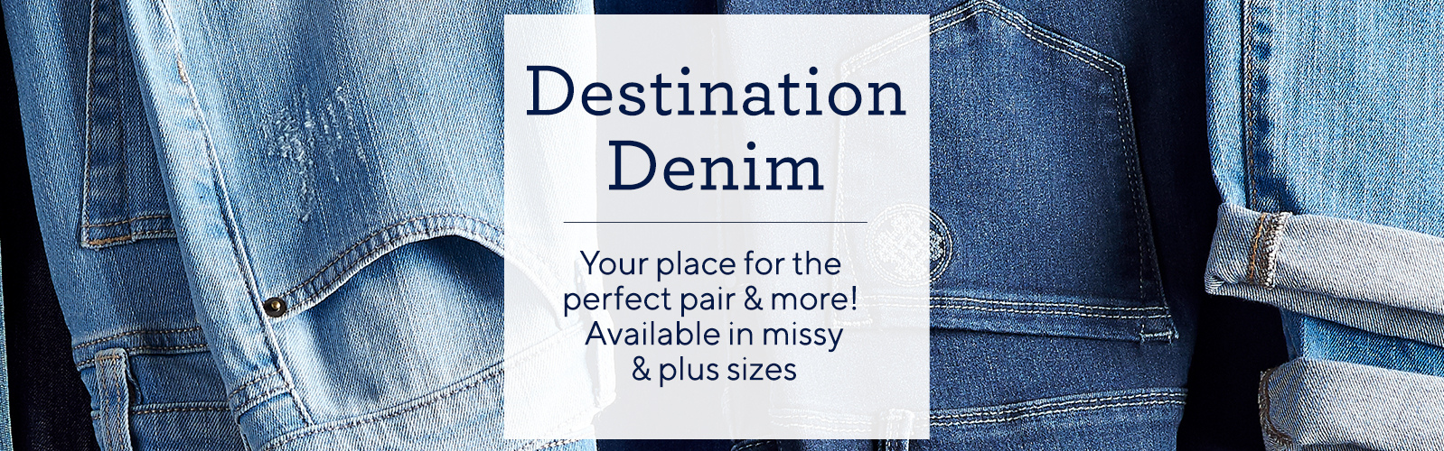681a8f7a9deb8 Denim Shop - Women s Denim   Jeans — QVC.com