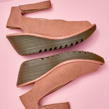 Heeled & Wedge Looks