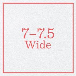 7–7.5 Wide