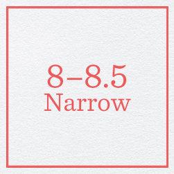 8–8.5 Narrow