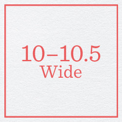 10–10.5 Wide