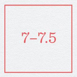 7–7.5
