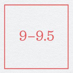 9–9.5
