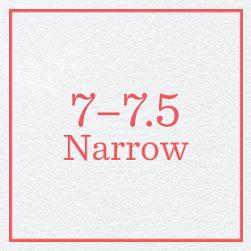 7–7.5 Narrow