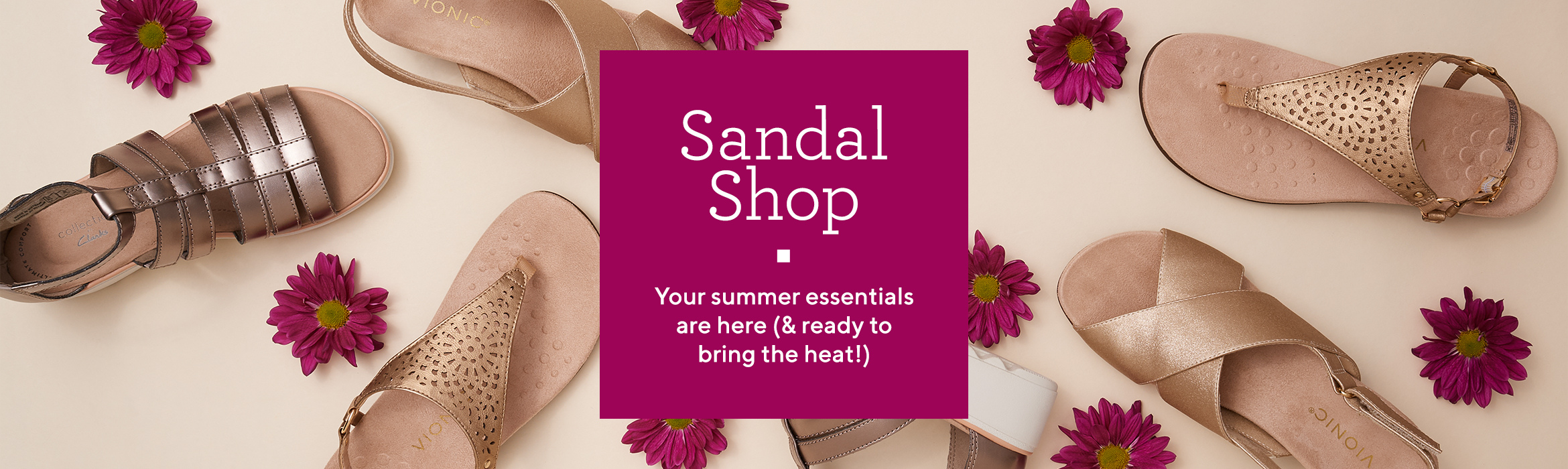 Sandal Shop: Your summer essentials are here (& ready to bring the heat!)