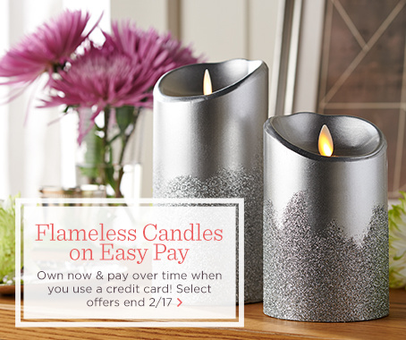 Flameless Candles on Easy Pay