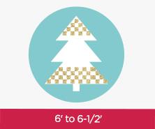 6 to 6-1/2 Feet Trees