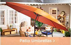 Patio & Garden Umbrellas