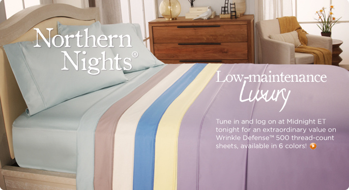 Northern Nights(R) Wrinkle Defense(TM) Alexa 500TC Sheet Set