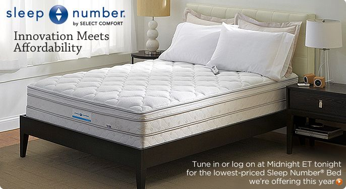 Sleep Number Silver Edition Bed Set by Select Comfort