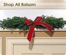 Fresh balsam 36-inch arch by Valerie Parr Hill