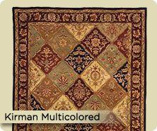 Royal Palace® Kirman handmade wool runner