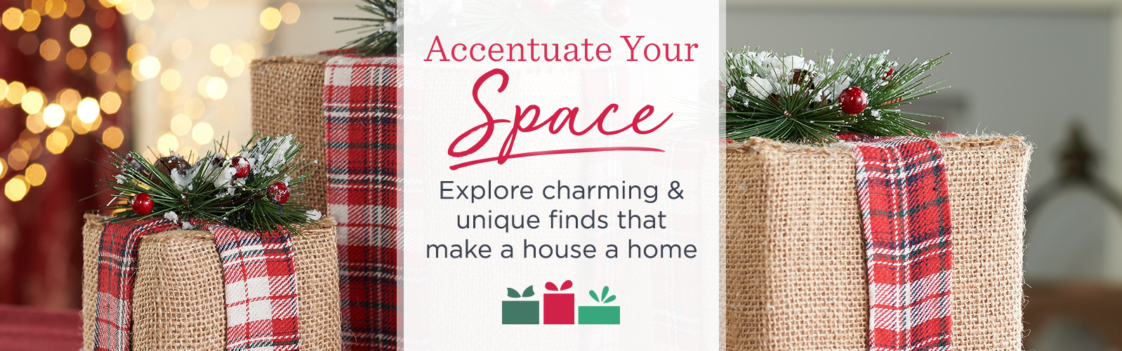 Accentuate Your Space - Explore charming & unique finds that make a house a home