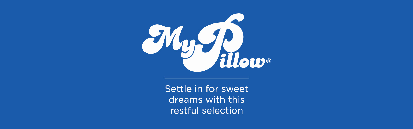 MyPillow - Settle in for sweet dreams with this restful selection
