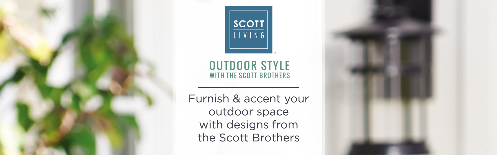 Scott living furnish accent your outdoor space with designs from the scott brothers