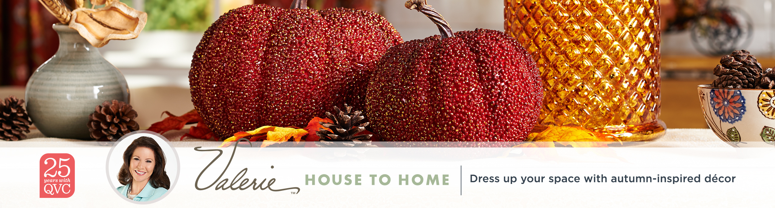 Valerie House to Home. Dress up your space with autumn-inspired décor.