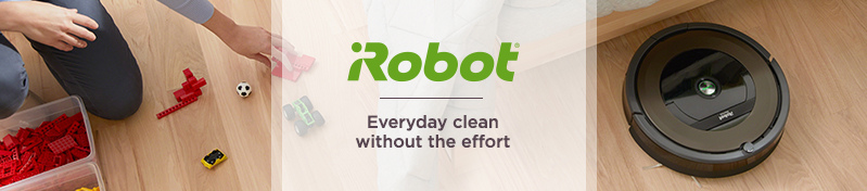 iRobot. Everyday clean without the effort