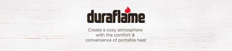 Duraflame, Create a cozy atmosphere with the comfort & convenience of portable heat
